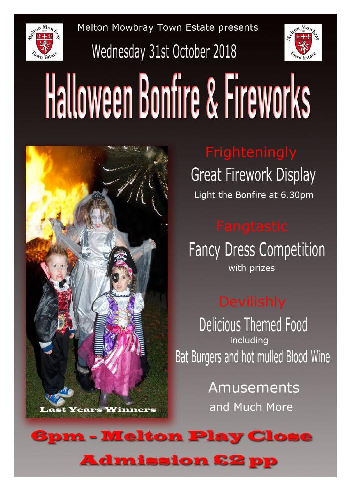 Halloween Bonfire 2018